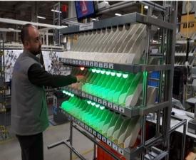 Sensörlü ürün toplama (Pick to Light) Sistemleri