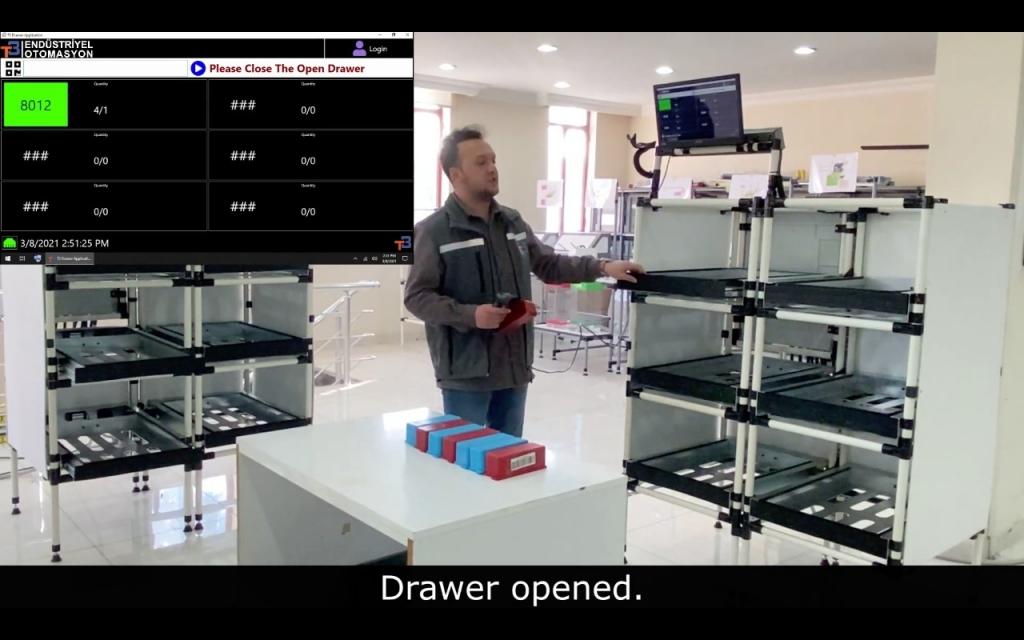 Akıllı Çekmece Sistemi (Smart Drawer)